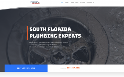 Local Trade Company Website