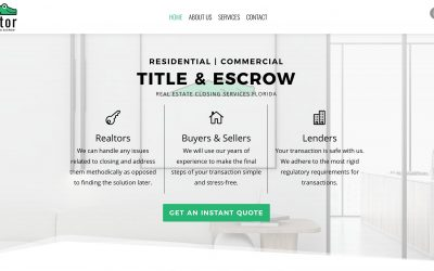 Florida Title & Escrow Company Website & Branding
